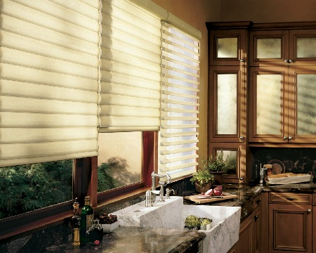 Pirouette Shading System By Hunter Douglas